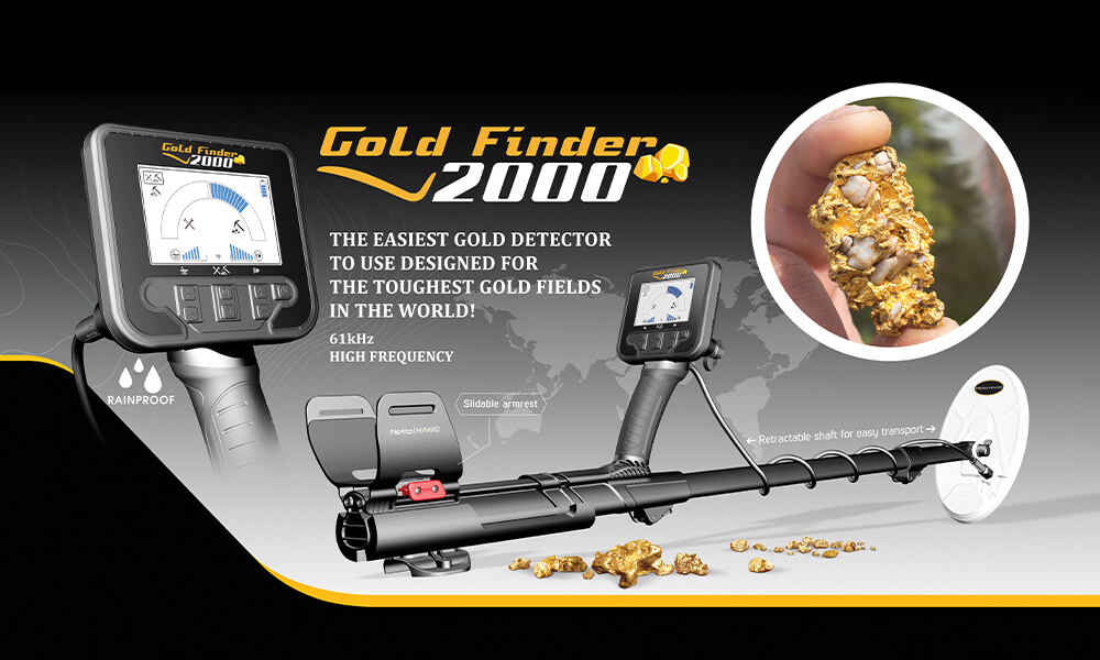 THE EASIEST GOLD DETECTOR TO USE FOR THE TOUGHEST GOLD FIELDS IN THE WORLD!