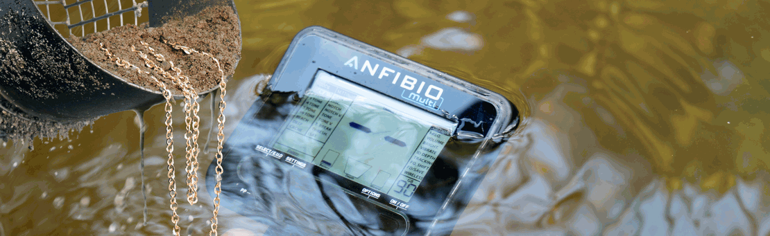 Nokta Anfibio waterproof metal detector